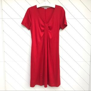 Three Dots Red Dress
